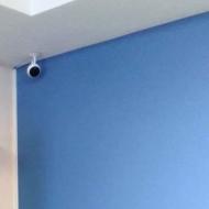 Монтаж видеонаблюдения на 2 Wi-Fi камеры в офисе