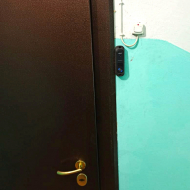 Монтаж видеодомофона в квартире на ул. Комсомольская в г. Екатеринбург