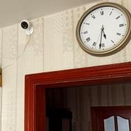 Установка 2-х Wi-Fi видеокамер в квартире г. Екатеринбург