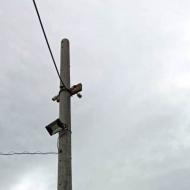 Установка камер видеонаблюдения в п. Новоалексеевское