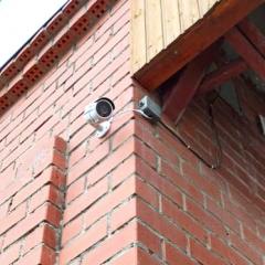 Установка видеонаблюдения в организации на улице Островского в Екатеринбурге