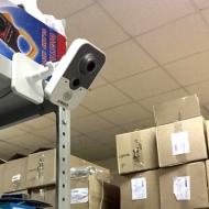 Монтаж комплекта видеонаблюдения на 6 камер на оптовом складе г. Екатеринбург