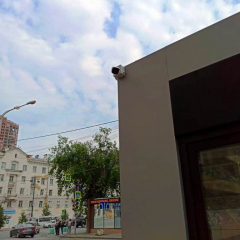 Установка видеонаблюдения в торговом павильоне на ул. Свердлова в г. Екатеринбург