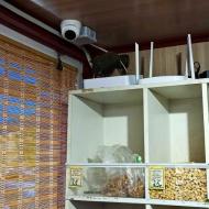 Установка видеонаблюдения в павильоне на улице Сыромолотова в Екатеринбурге
