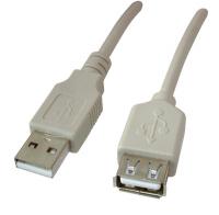 Кабель USB  (штекер-гнездо) 1,5м