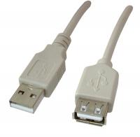 Кабель USB  (штекер-гнездо) 5м
