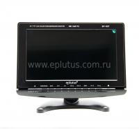 """Автомобильный портативный телевизор с DVB-T2 10"""" Eplutus EP-102T"""