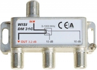 Ответвитель на 2 DM 31C на 10 дБ WISI