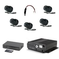 Комплект видеонаблюдения для автошкол на 5 камер