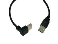 Кабель USB (штекер USB - штекер USB угловой) 1,5м