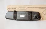 Автомобильный видеорегистратор-зеркало Eplutus D02 - фото 3