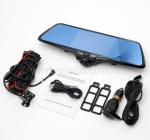 Автомобильный видеорегистратор-зеркало с 2-я камерами большой угол обзора Eplutus D36 - фото 4