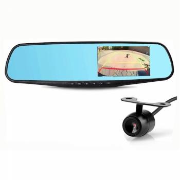 Автомобильный видеорегистратор-зеркало Eplutus D02