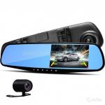 Автомобильный видеорегистратор-зеркало Eplutus D02 - фото 1